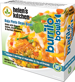Product Helen's Kitchen Burrito Bowl