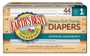 Product Earths Best diapers